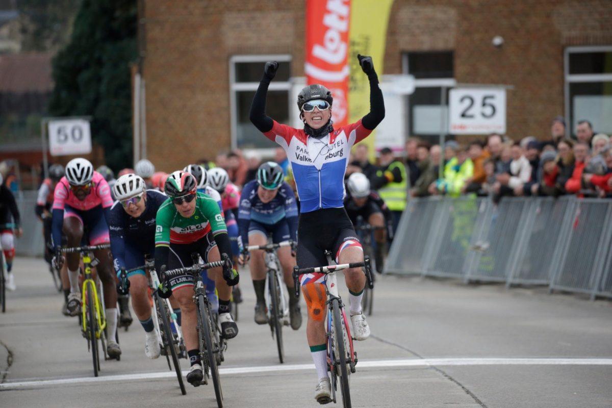 Lorena Wiebes vince lo Spar - Omloop van Het Hageland (foto anton Vos)