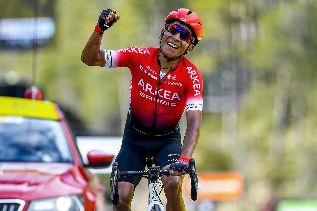 Nairo Quintana vince l'ultima tappa della Parigi-Nizza 2020 (foto BettiniPhoto)