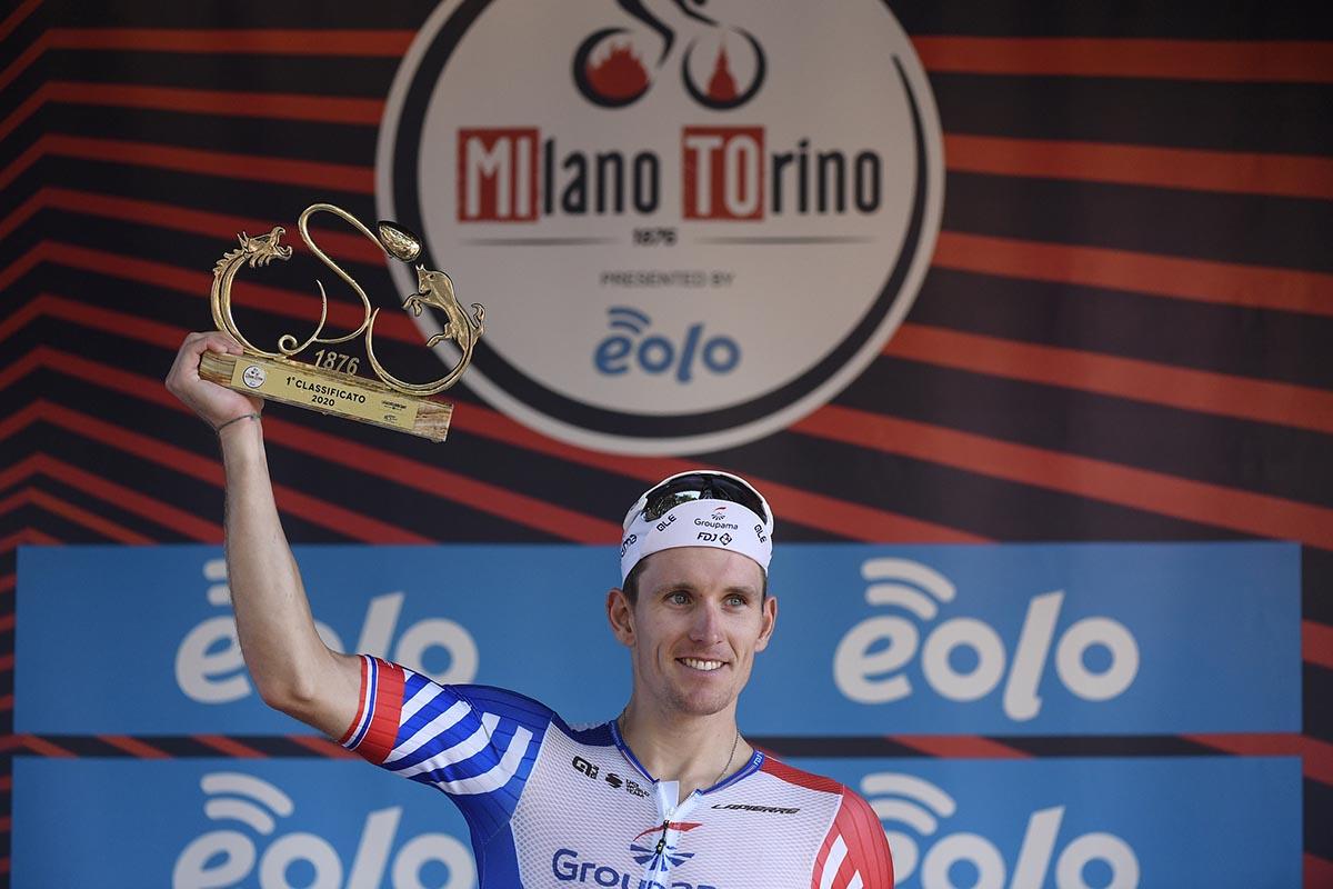 Arnaud Démare vince la Milano - Torino 2020 (Foto LaPresse)