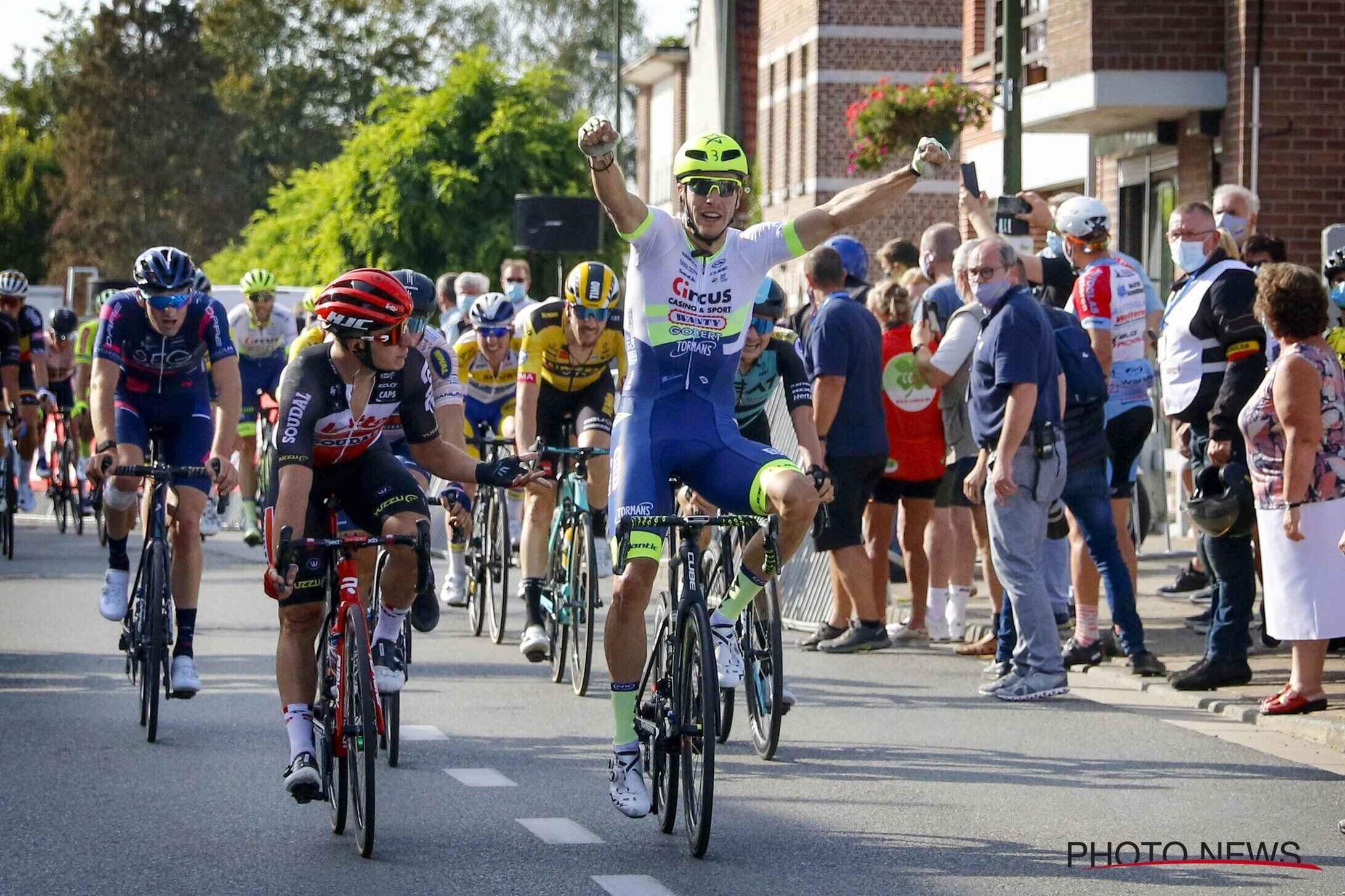 Danny Van Poppel vince la Gooikse Pijl 2020
