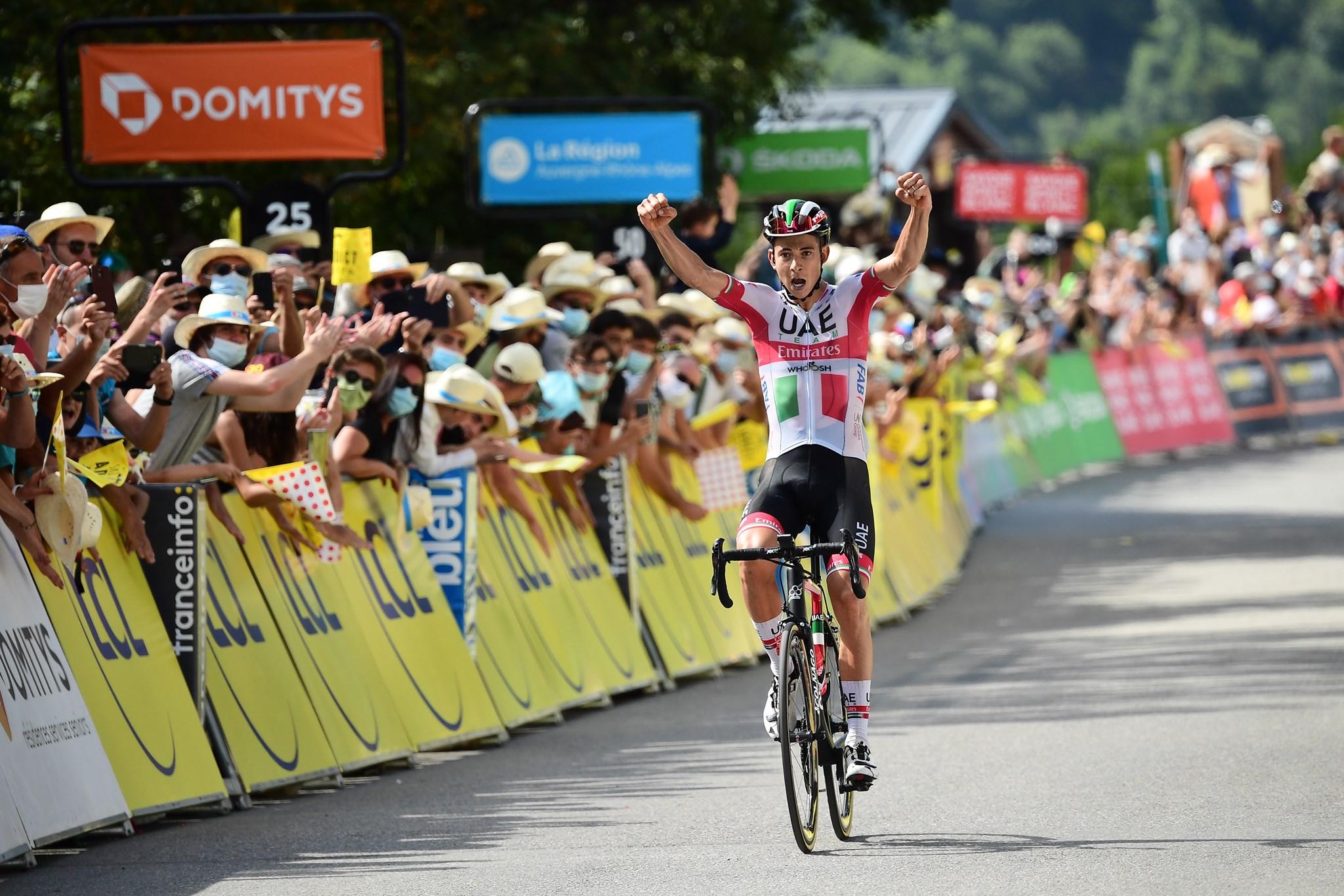 Davide Formolo vince la terza tappa del Critérium du Dauphiné (foto A.S.O. / Alex Broadway)