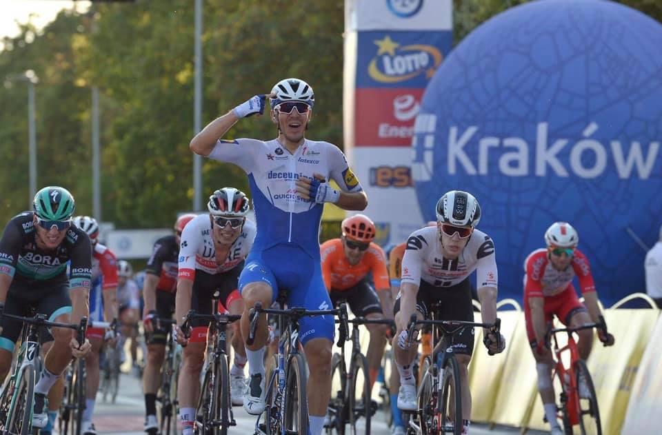 Davide Ballerini vince l'ultima tappa del Tour de Pologne 2020