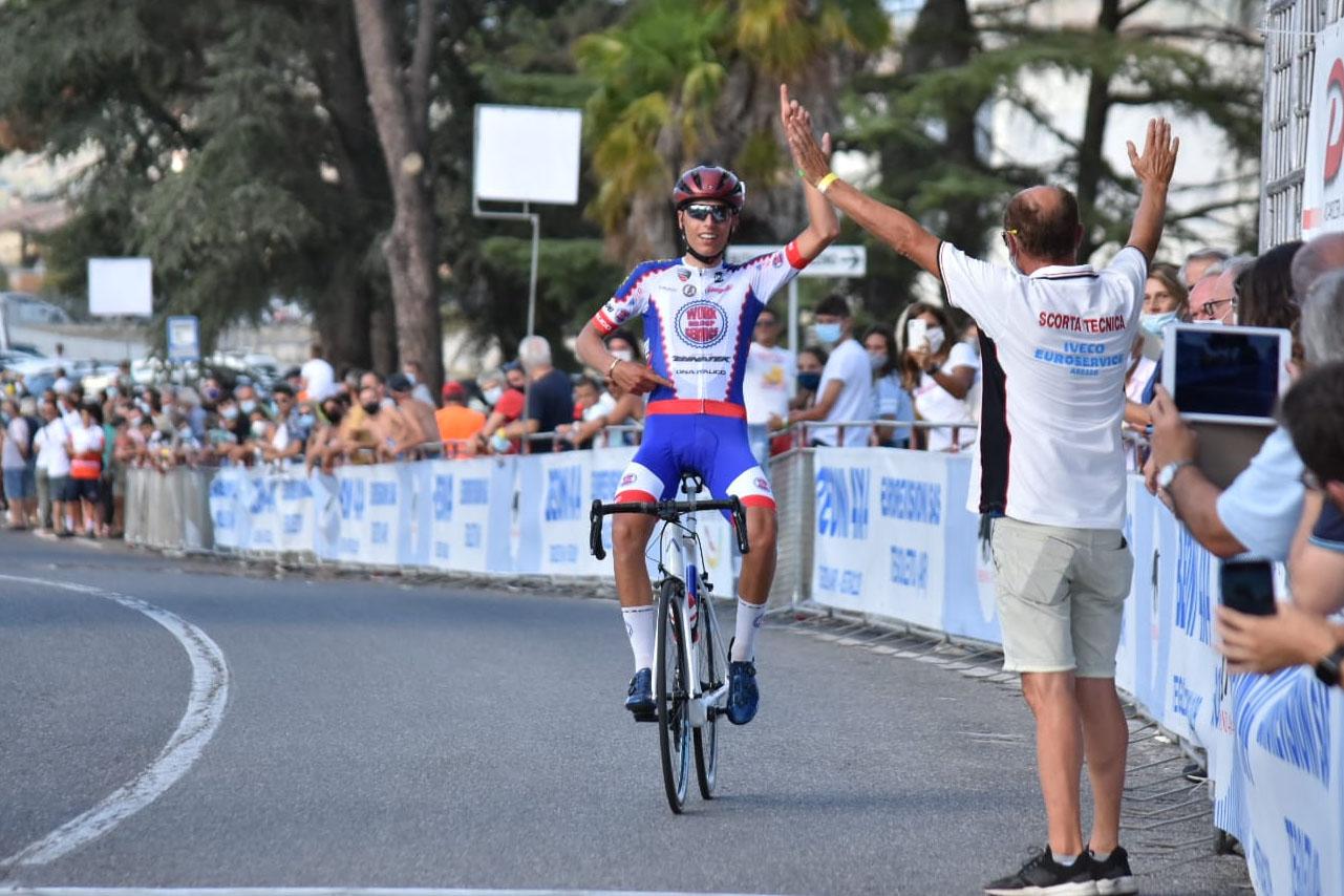 Lorenzo Germani vince a Pieve di Toppo (foto Scanferla)