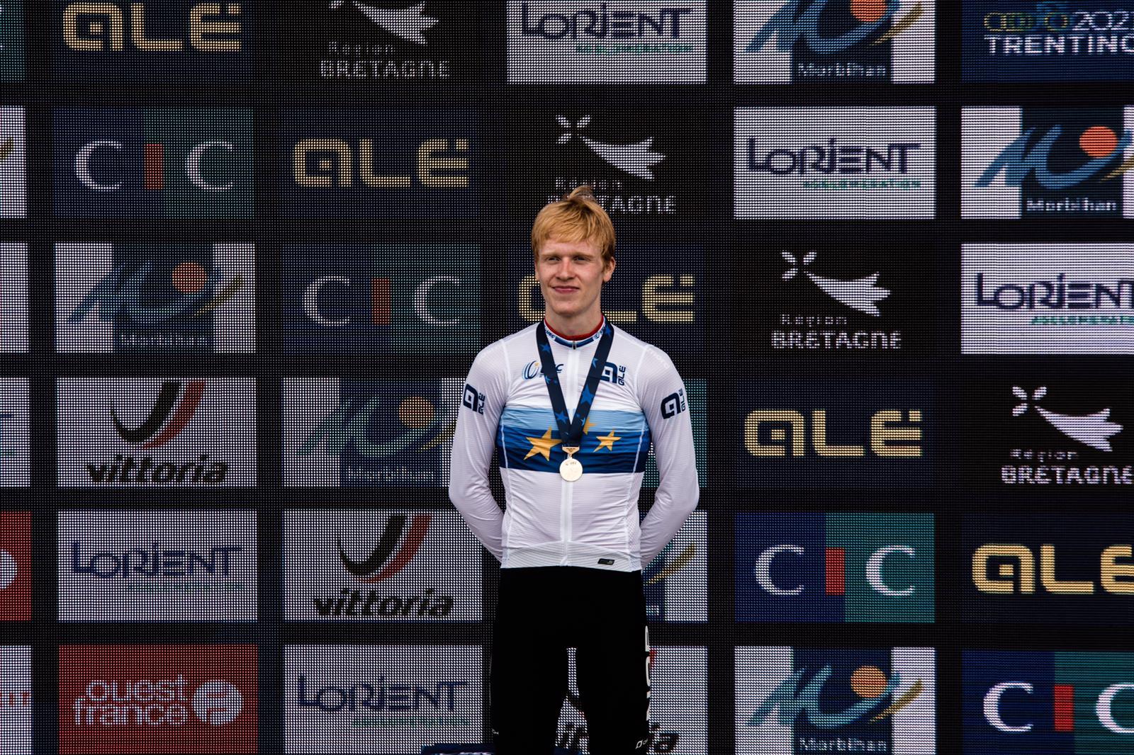 Andreas Leknessund vince il Campionato Europeo a cronometro Under 23 2020 (foto Twila Muzzi)
