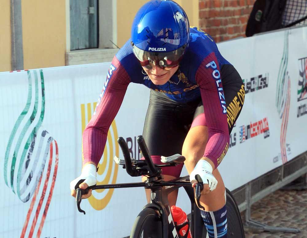 Elisa Longo Borghini campionessa italiana a cronometro 2020 (foto Fabiano Ghilardi)