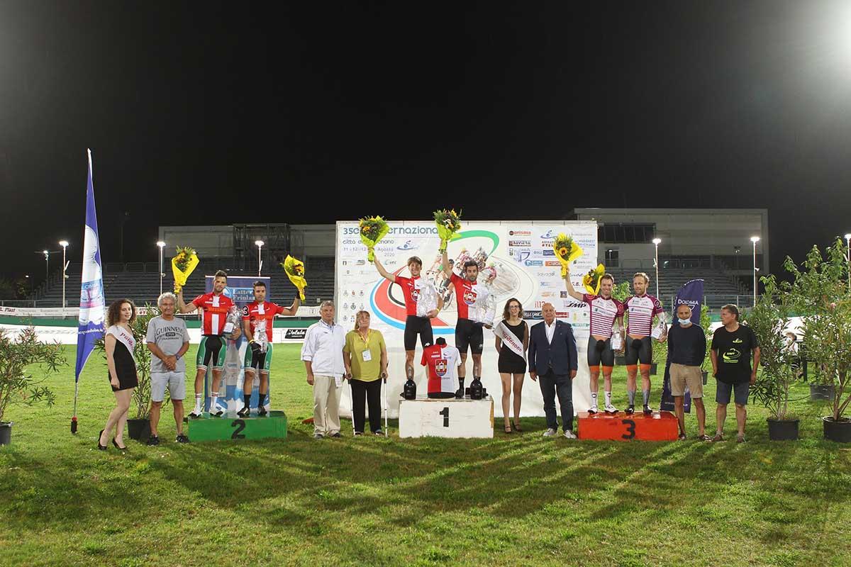 Thiebaudvincono sia l'americana finale che la classifica generale della3 Sere Internazionale città di Pordenone