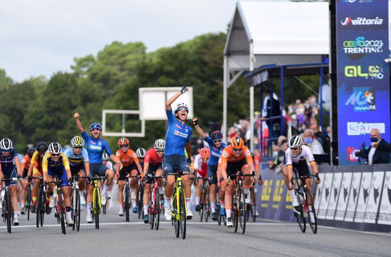 Elisa Balsamo vince il Campionato Europeo Donne U23 a Plouay 2020 (foto Twila Muzzi)