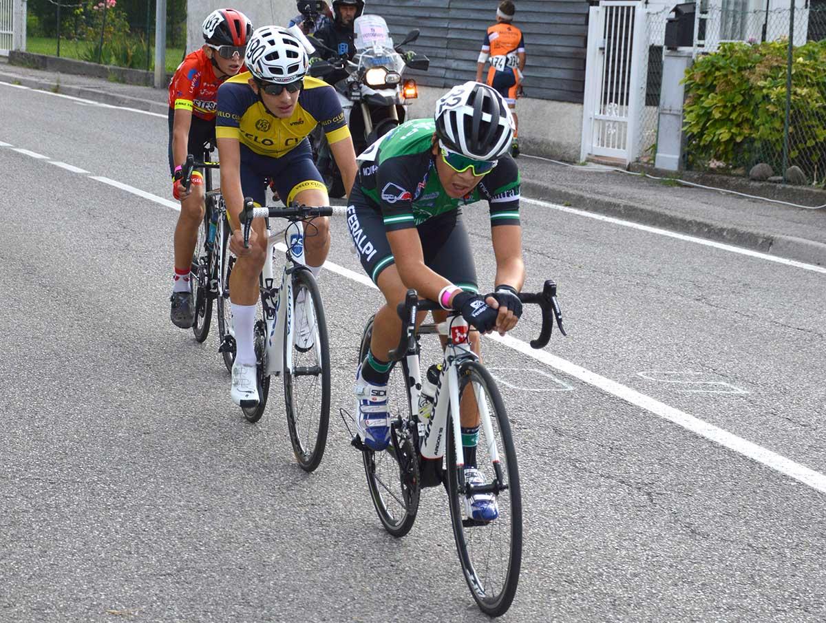 Tavelli, Castelli e Turconi in fuga (foto Roberto Amaglio)