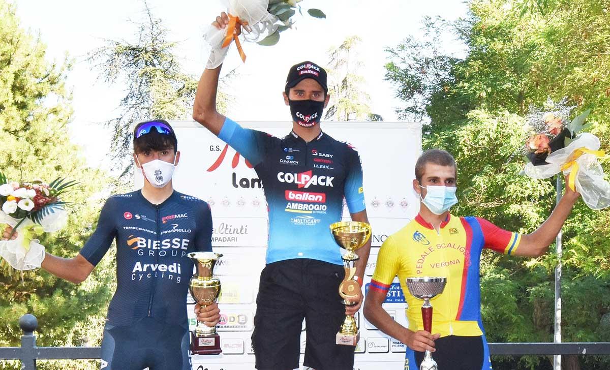 Il podio di Gambassi Terme