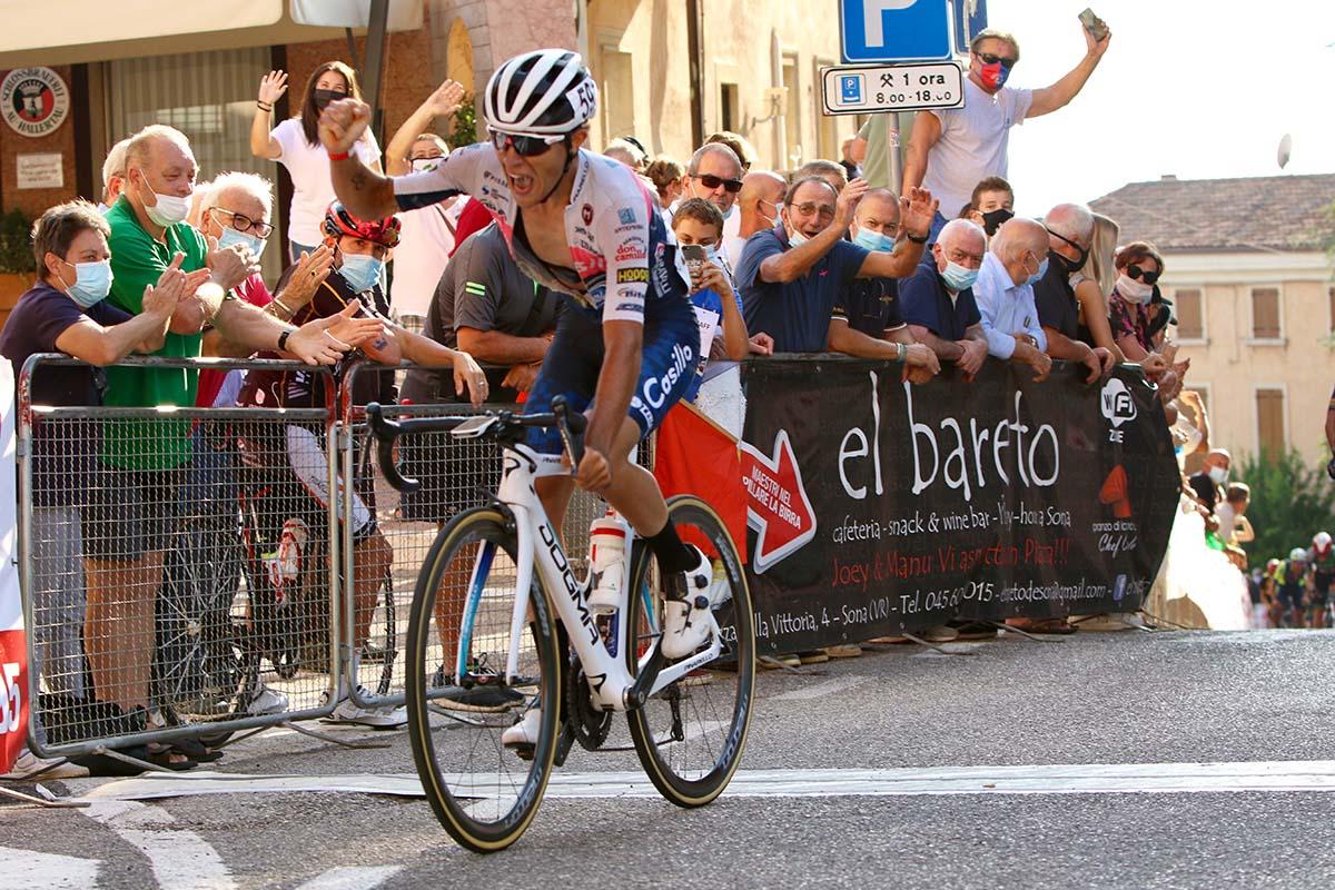 Marco Murgano vince il Gp San Luigi di Sona (foto Photobicicailotto)