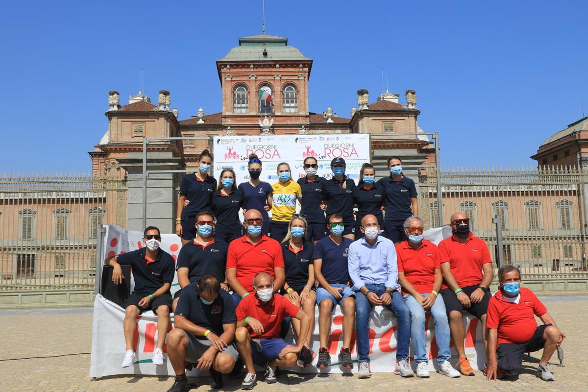 Il gruppo del Racconigi Cycling Team (foto Fabiano Ghilardi)