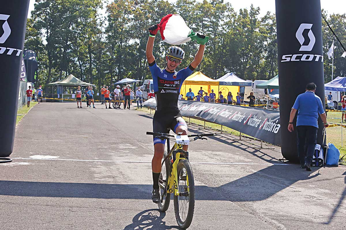 Nicolas Milesi vince tra gli Allievi 2° anno