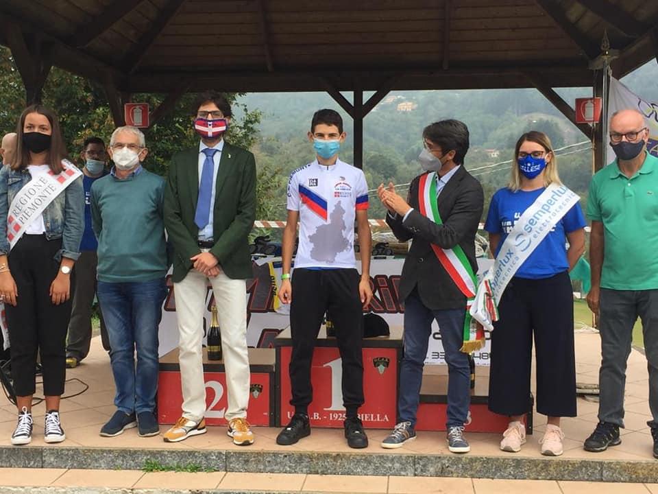 Gabriele Cerruti campione regionale Piemonte Allievi 2020 a Bioglio