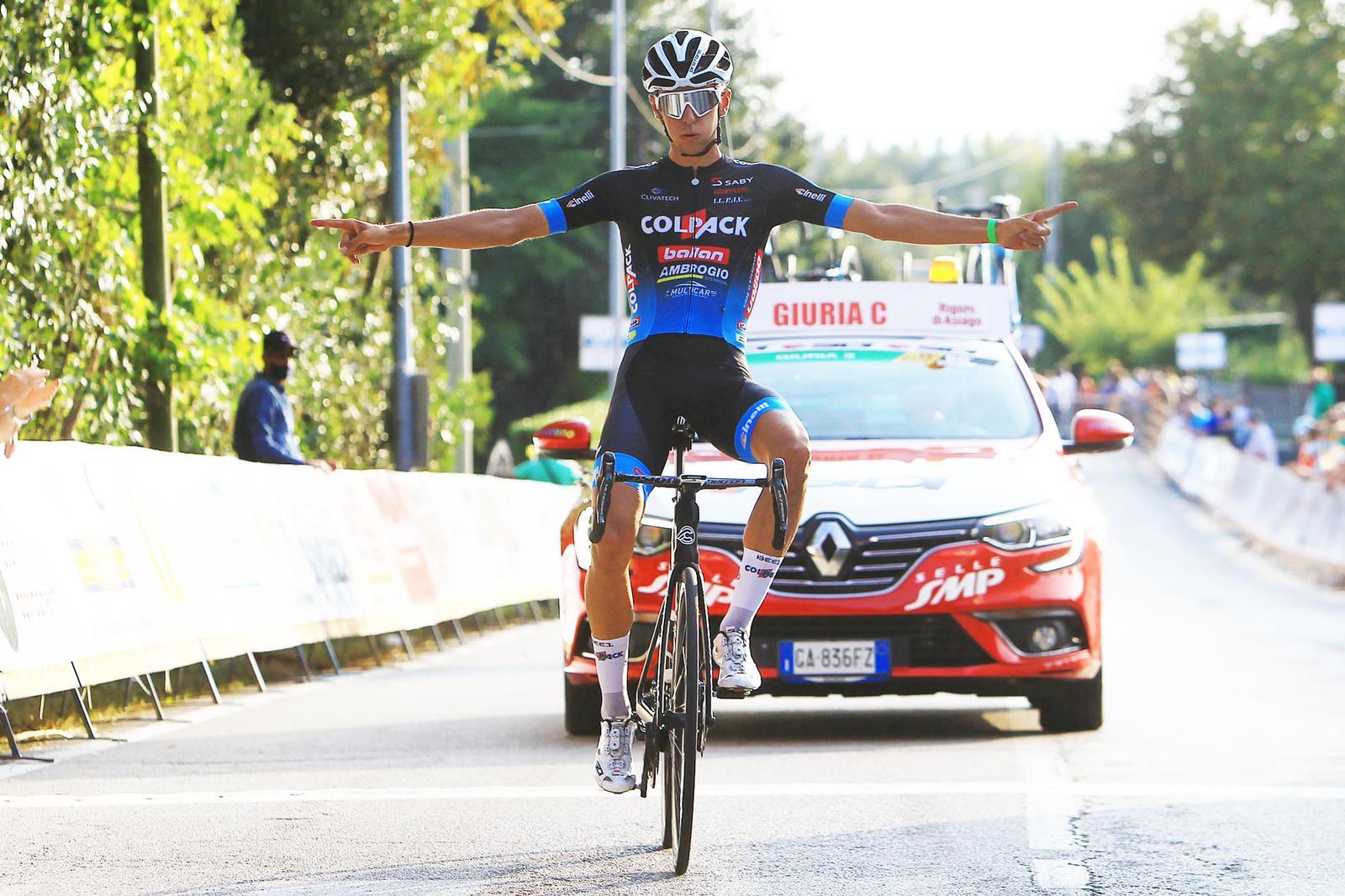 Antonio Tiberi vince per distacco l'internazionale di San Vendemiano
