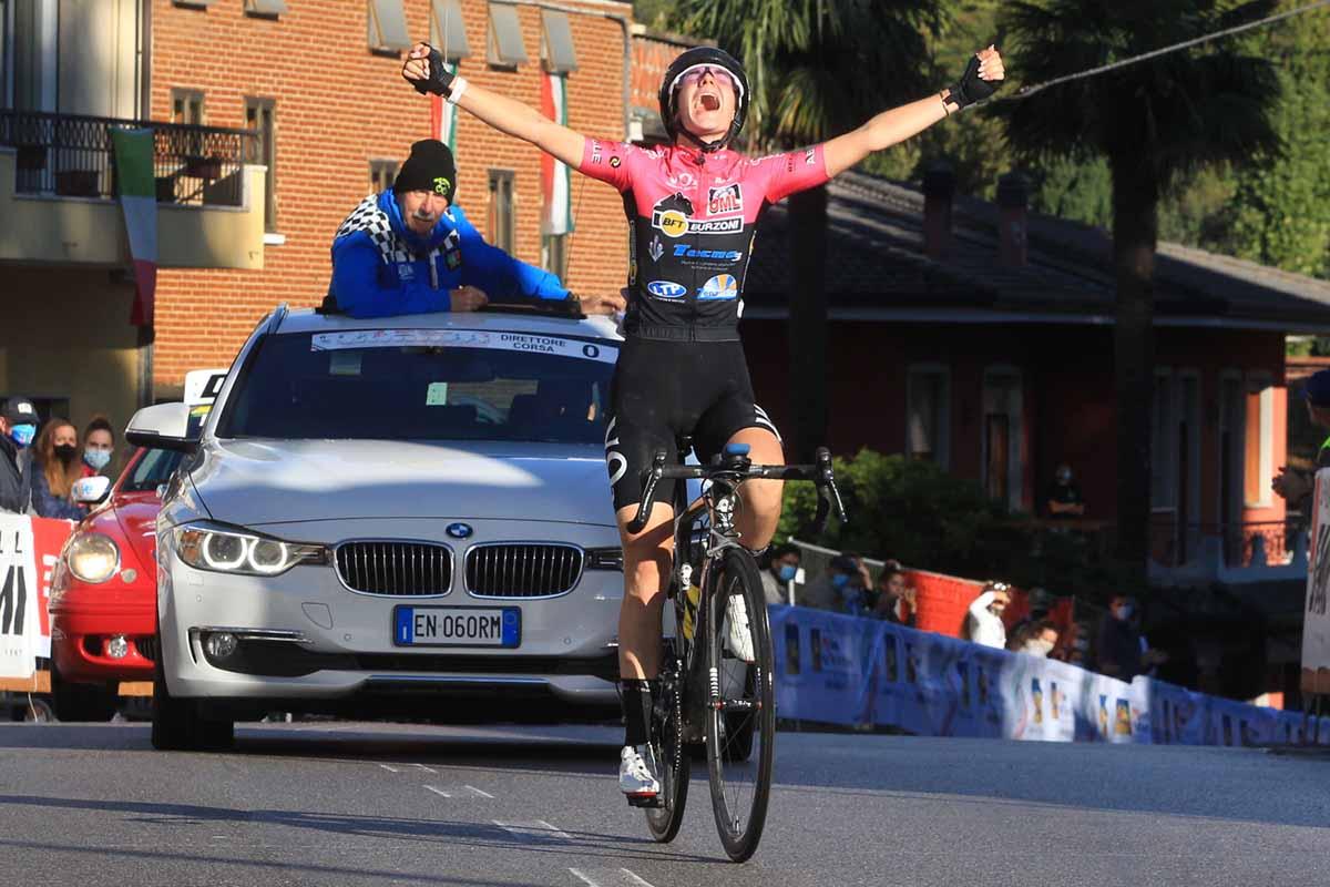 Francesca Barale vince il Campionato Italiano strada Donne Junior 2020 a Sarcedo (foto Fabiano Ghilardi)