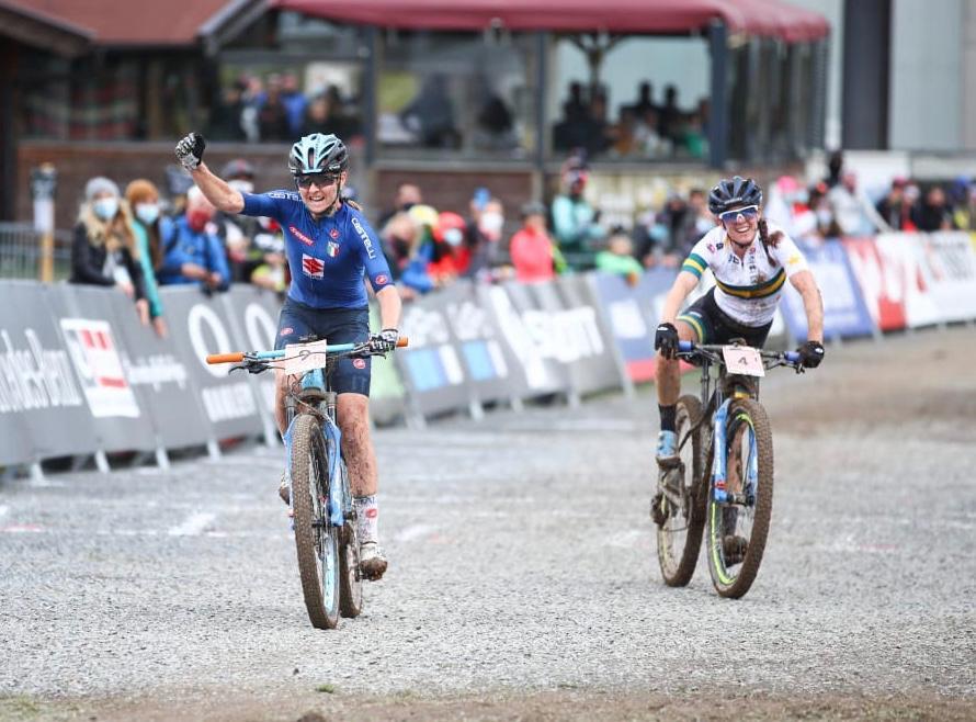 Eva Lechner si prende il secondo posto e la medaglia d'argento al Mondiale XCO 2020
