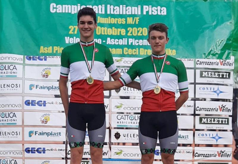 Manlio Moro e Lorenzo Ursella regalano altri due titoli tricolore alla Borgo Molino