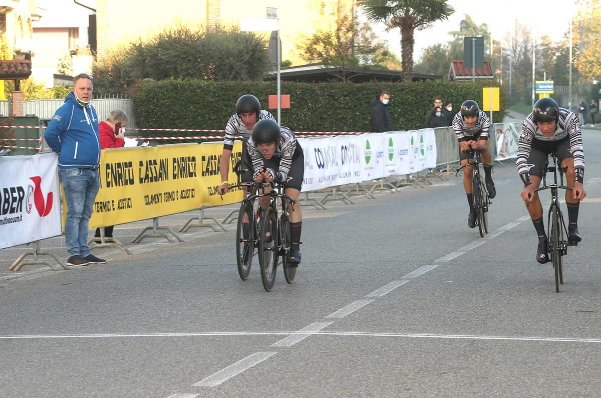 Cycling Team Friuli campione d'Italia della Cronosquadre Under 23 2020