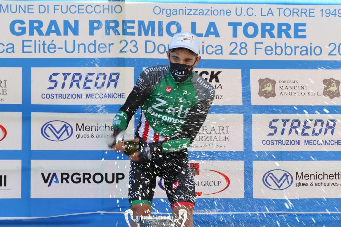 Gabriele Benedetti vincitore del Gp La Torre 2021 (foto Photors.it)