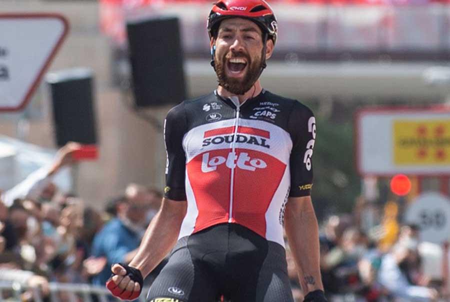 Thomas De Gendt ha vinto l'ultima tappa della Volta a Catalunya 2021