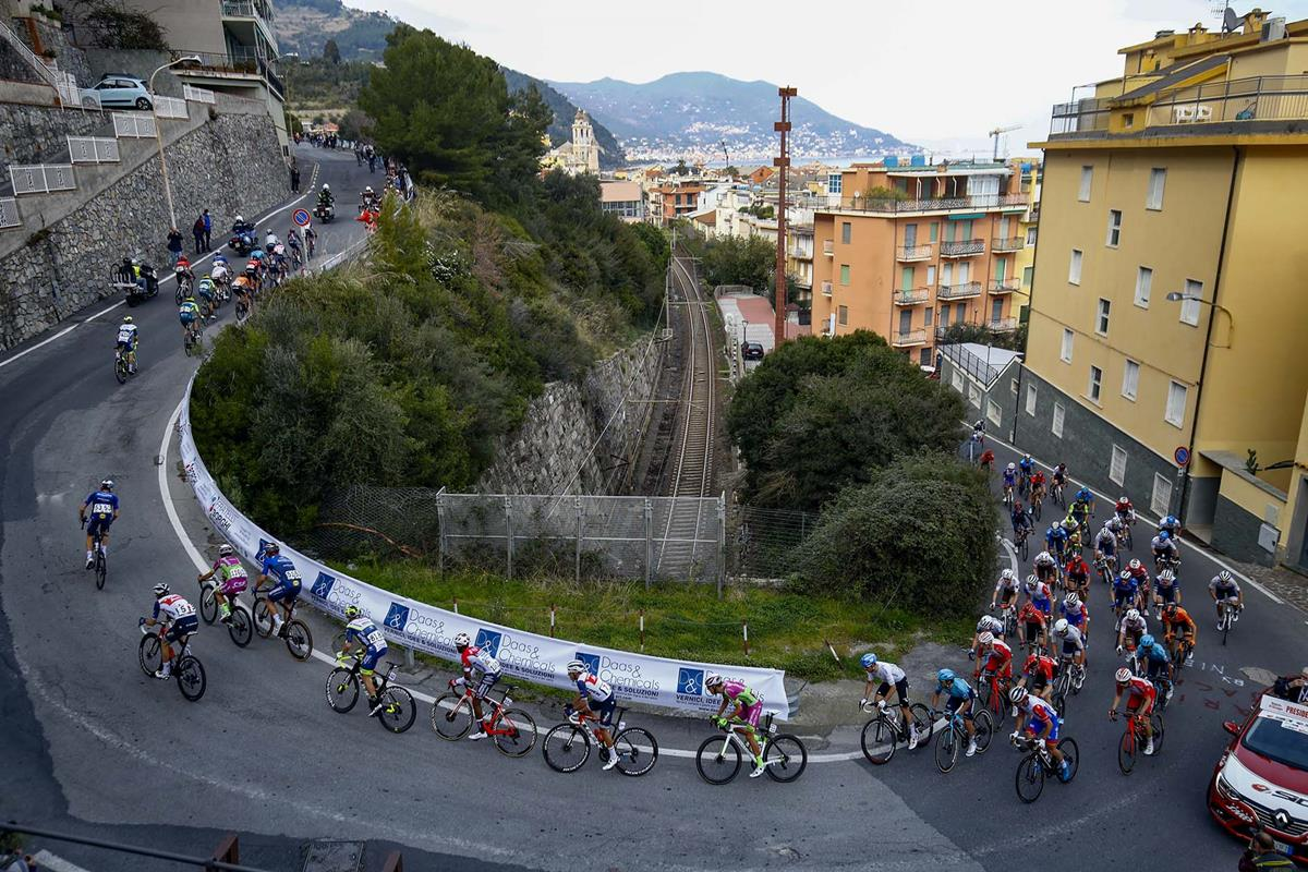 Una fase di gara del Trofeo Laigueglia 2021 (foto BettiniPhoto)