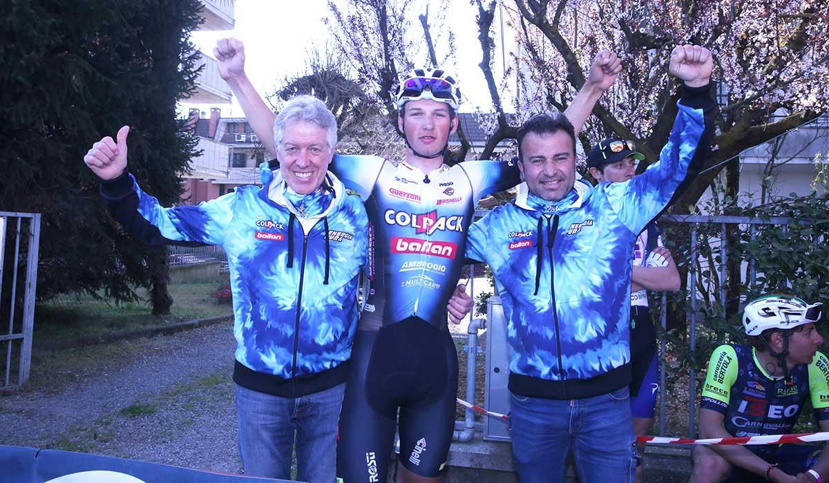 Gidas Umbri con Antonio Bevilacqua e Ivan Quaranta (foto Soncini)