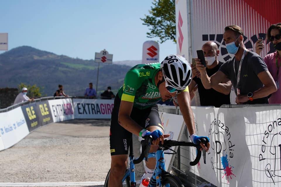 Juan Ayuso vince la terza tappa del Giro di Romagna per Dante Alighieri 2021 (foto Isolapress)