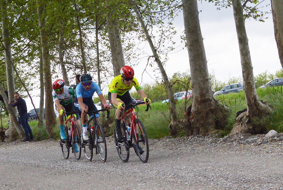 La fuga a tre che ha deciso il Trofeo Comune di Gussago