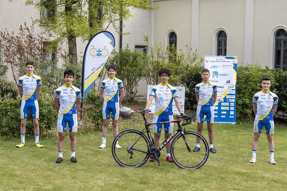 Gli Allievi 2021 della Progetto Ciclismo Rodengo Saiano