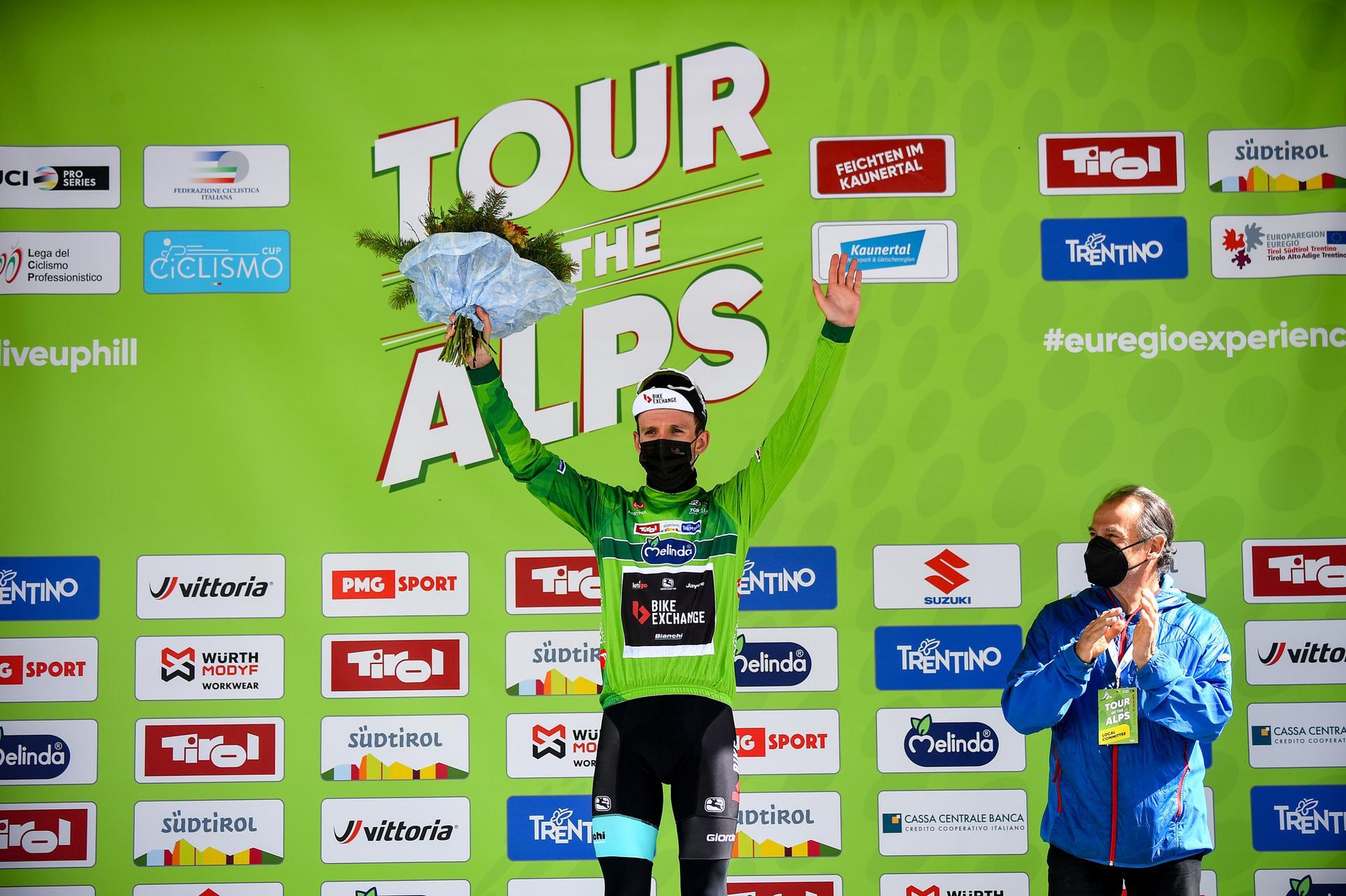 Simon Yates nuovo leader del Tour of the Alps 2021 (foto BettiniPhoto)