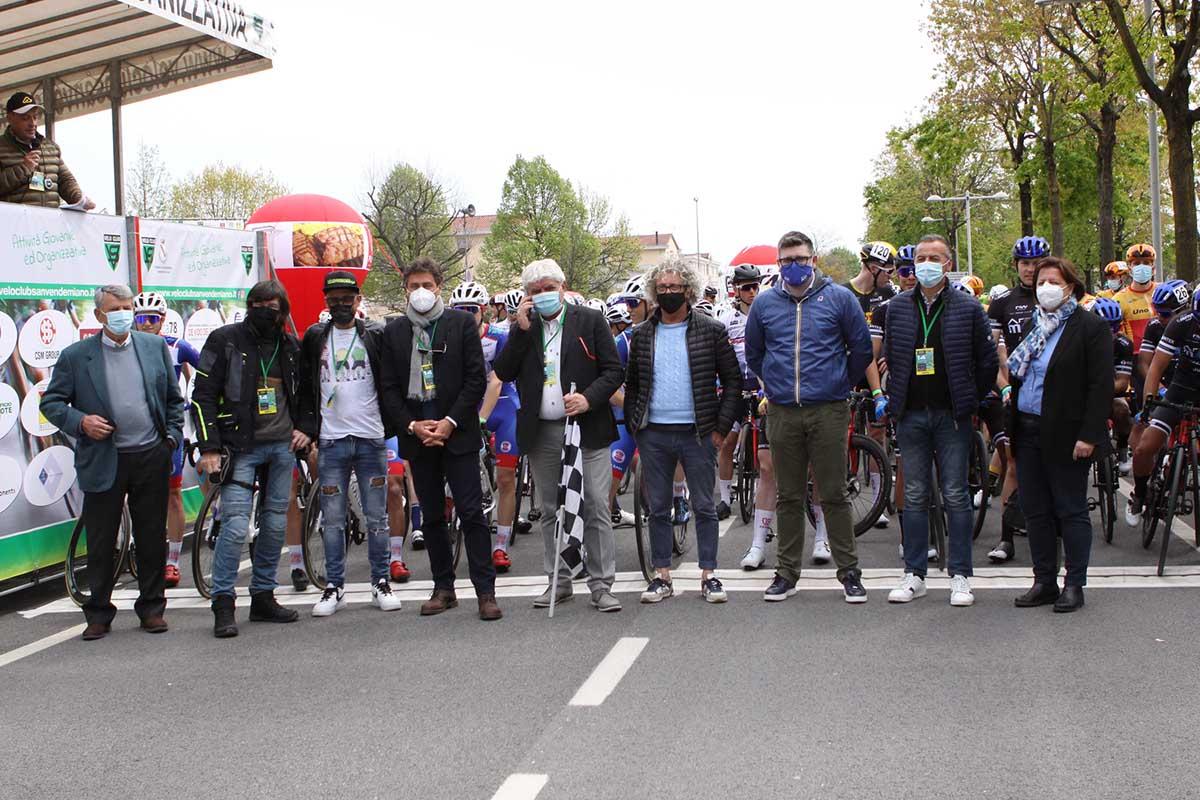 La partenza del Trofeo Città di San Vendemiano 2021 (foto Bolgan)