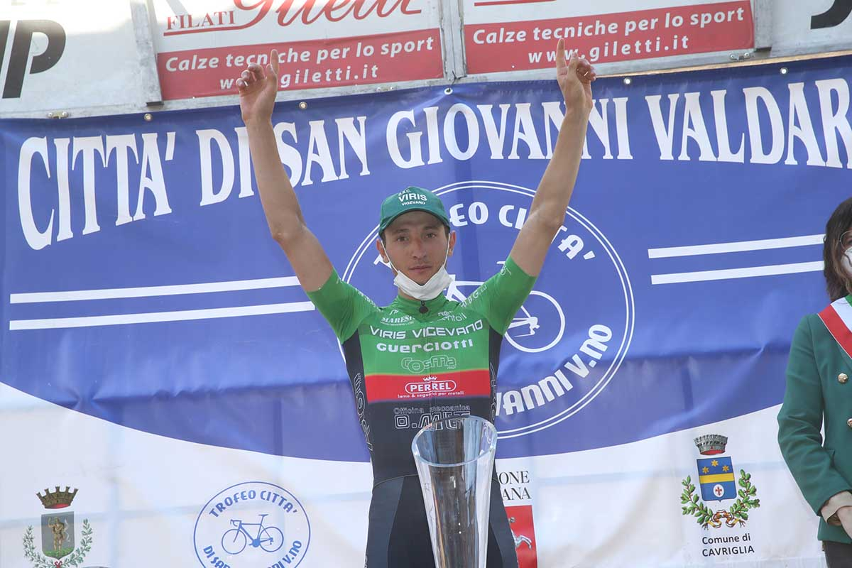 Simone Piccolo vince a San Giovanni Valdarno (foto Soncini)