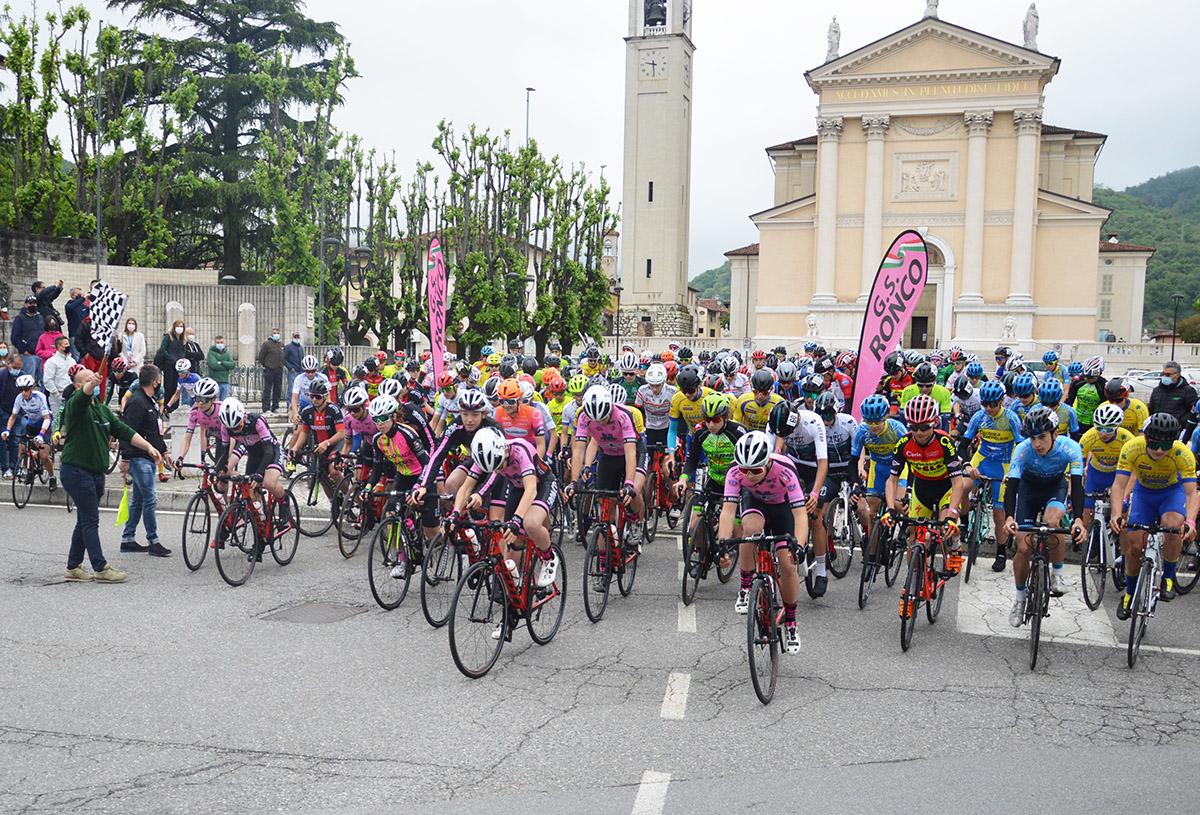 La partenza del Trofeo Comune di Gussago
