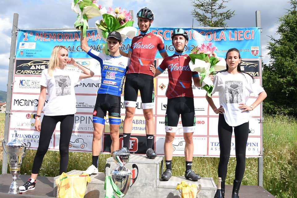 Il podio di Galciana di Prato