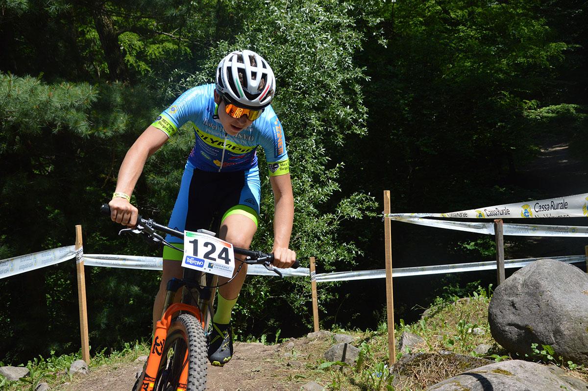 Mattia Stenico in azione