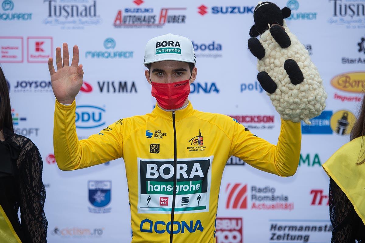 Giovanni Aleotti resta leader del Sibiu Tour dopo la terza tappa