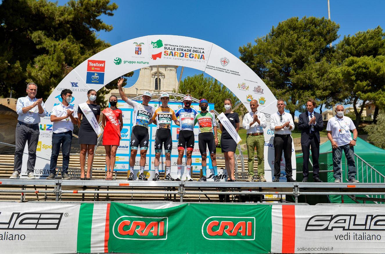 Tutte le maglie della Settimana Ciclistica Italiana vinta da Diego Ulissi 2021 (foto BettiniPhoto)
