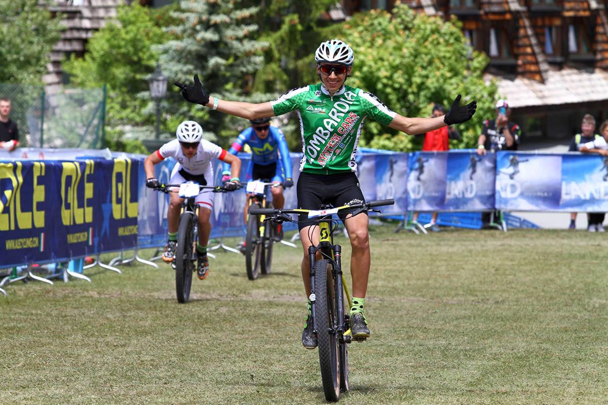 Mario Campana vince il Campionato Europeo XCE U15 maschile a Pila
