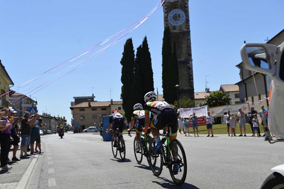 La fuga più importante dell'ottava tappa del Giro d'Italia Donne 2021 (foto BettiniPhoto)