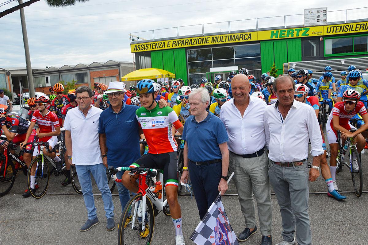 Gli 86 partenti al via del Trofeo Vittorio Giorgi