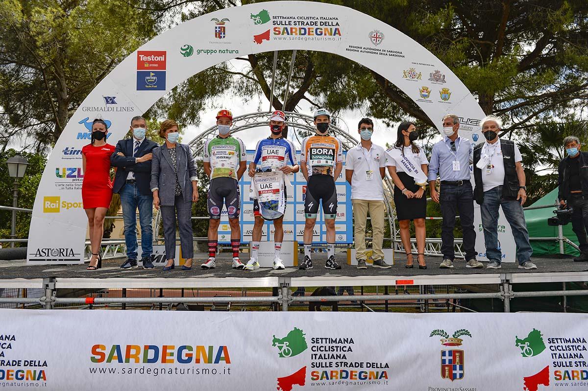 Le maglie della Settimana Ciclistica Italiana 2021 (BettiniPhoto)