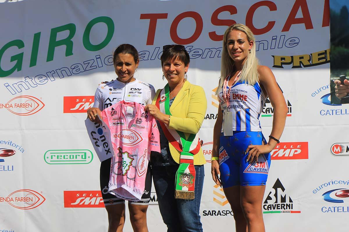 Arlenis Sierra si conferma leader dopo la prima tappa del Giro della Toscana femminile 2021 (foto Fabiano Ghilardi)