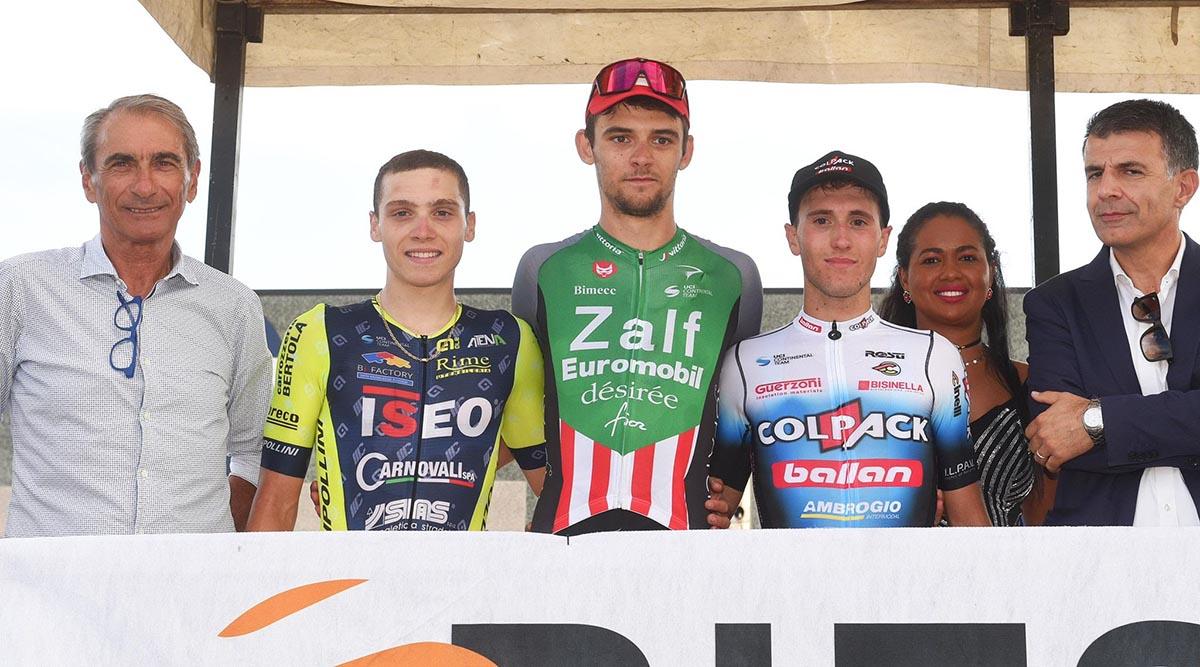 Il podio del Trofeo Gs Gavardo