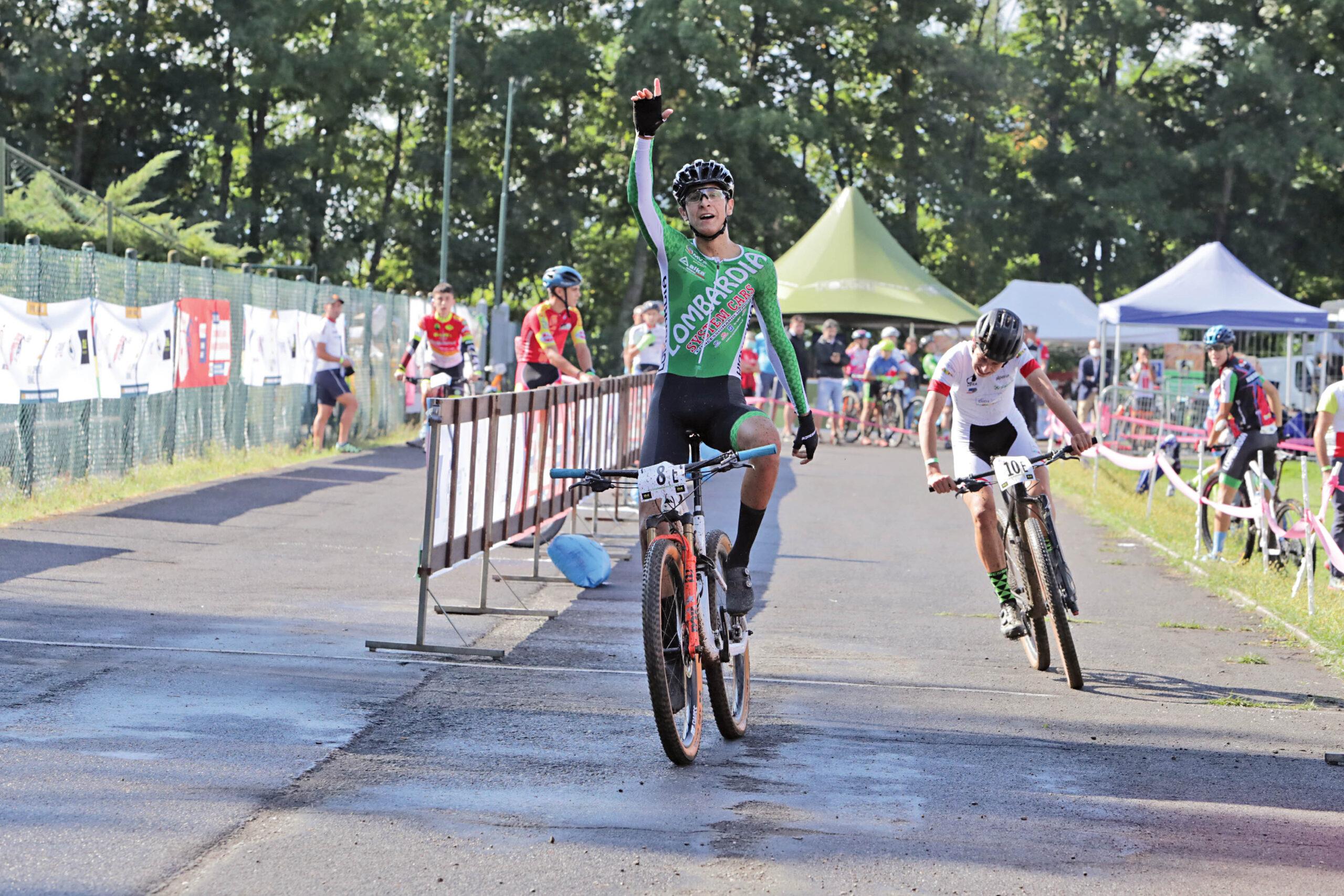 Davide Donati vince lo sprint finale