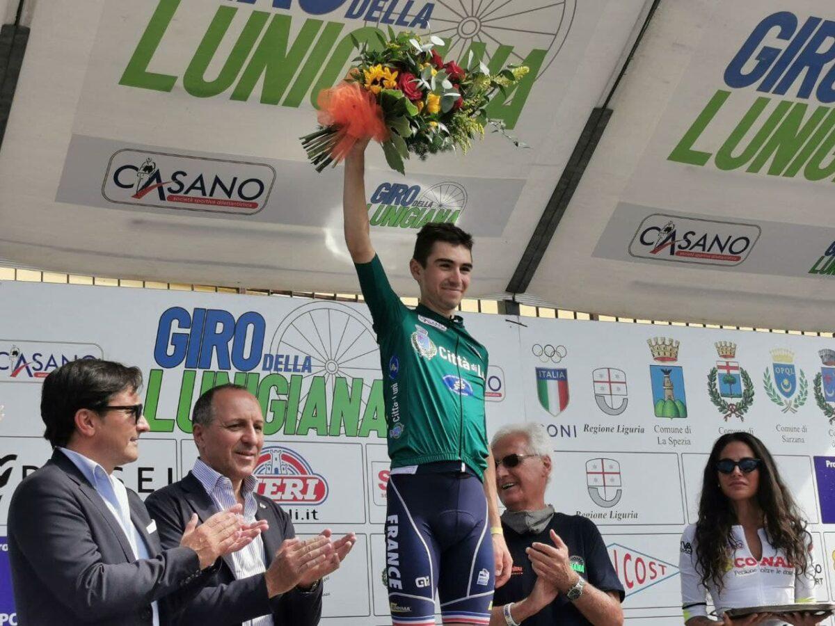 Lenny Martinez vincitore del 45° Giro della Lunigiana