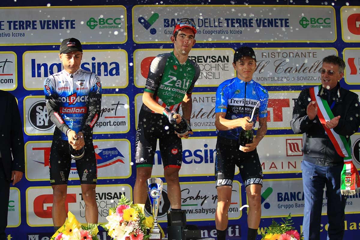Il podio della Piccola Sanremo 2021