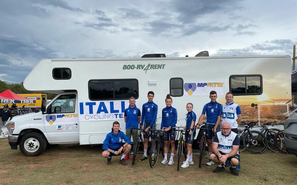 La Nazionale Italiana di ciclocross negli Stati Uniti