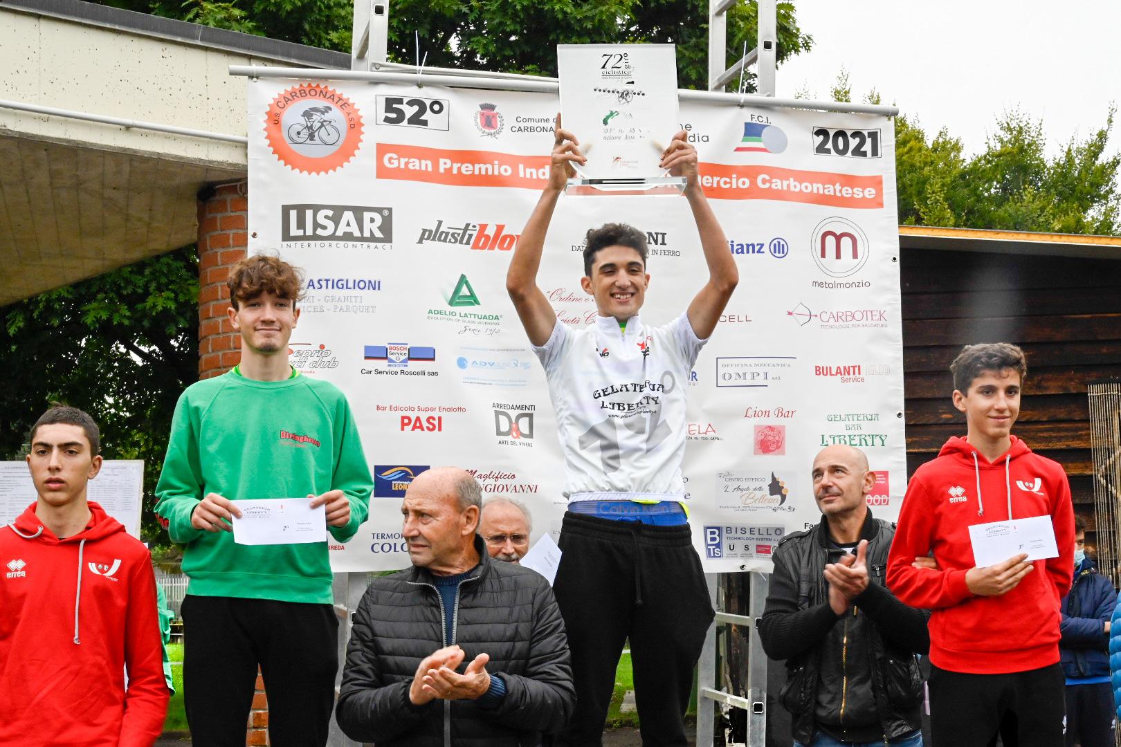 Juan David Sierra vince il Giro della Provincia di Como 2021