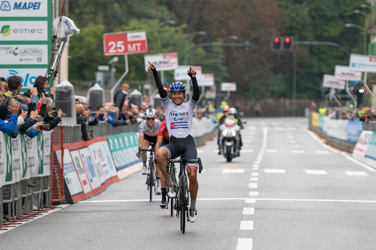 Arlenis Sierra vince la prima Tre Valli Varesine Women's Race